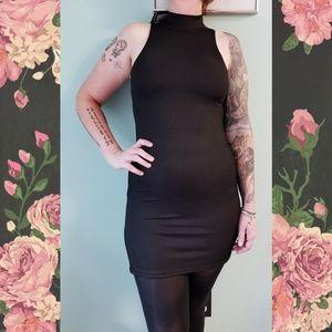 Nasty Gal Good Times on Rib-Peat Mini Dress